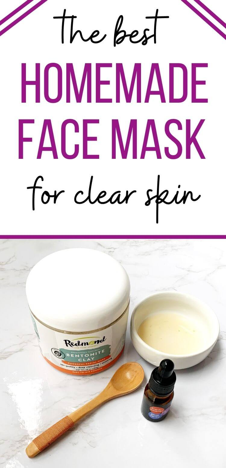 the best homemade face mask for clear skin